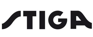 Logo de la marque d'équipements de jardin Stiga